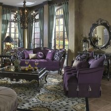 <strong>Michael Amini</strong> Lavelle Sofa and Settee Set