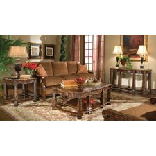 <strong>Michael Amini</strong> Windsor Court Coffee Table Set