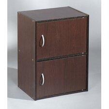 """Bücherregal """"Easy Life Cube"""" mit 2 Türen"""