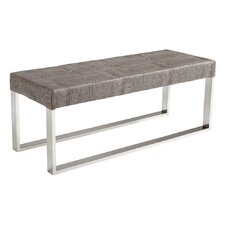 Mirage Leather Entryway Bench