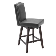 "Maison 26"" Swivel Bar Stool with Cushion"