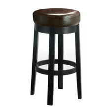 "Cedric 30"" Swivel Bar Stool with Cushion"