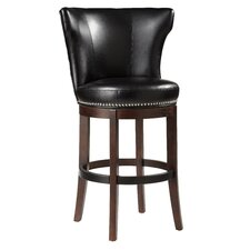 Tavern Bonded Leather Swivel Stool