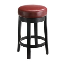"Cedric 26"" Swivel Bar Stool with Cushion"