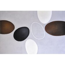 Floating Ovals Wall Art