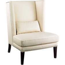 <strong>Sunpan Modern</strong> Malibu Wing Side Chair