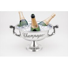 <strong>Fashion N You by Horizon Interseas</strong> Champagne with Handles Bucket