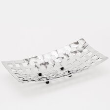 <strong>Fashion N You by Horizon Interseas</strong> Rectangular Weave Serving Tray