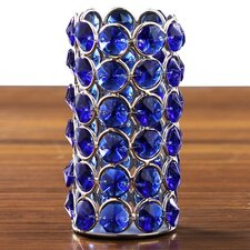 Crystal Beaded Tealight Holder