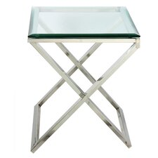 Hudson Cross End Table