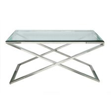 <strong>Fashion N You by Horizon Interseas</strong> Hudson Cross Coffee Table