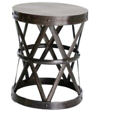 Hammered Drum Cross Table / Stool