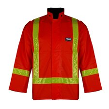 Journeyman PVC Jacket with Reflective Safety Stripes