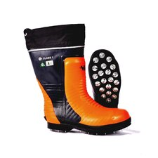 Bushwhacker Snug Fit Caulked Sole Chainsaw Boot