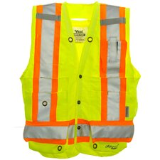 Professional 300D Trilobal Rip Stop Surveyor Safety Vest