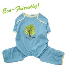 Soy Fiber and Cotton Hug A Tree Dog Pajamas