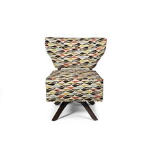 Sass Triad Fabric Slipper Chair