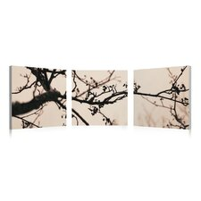 Cherry Branches Wall Art (Set of 3)