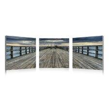 Pier 3 Piece Photographic Print Set (Set of 3)