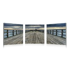 Pier Image Wall Art (Set of 3)