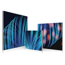 Abstract Blue Lines Wall Art