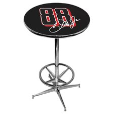 NASCAR Pub Table with Foot Ring Base