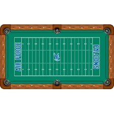 <strong>Wave 7</strong> NCAA Football Field Recreational Billiard Table Felt