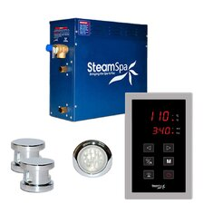 12 kW Indulgence Touch Pad Steam Generator Package
