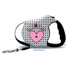 <strong>26 Bars & A Band</strong> Avant Garde Couture Princess Retractable Dog Leash
