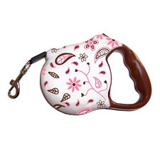 Avant Garde Floral Fling Retractable Dog Leash