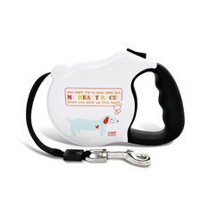 Avant Garde My Heart Races Retractable Dog Leash