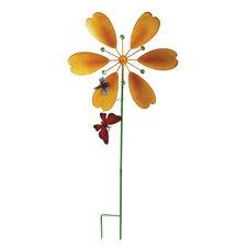 Flower Windmill Garden Stake