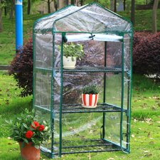 "3 Tier 17"" W x 29"" D Growing Rack Greenhouse"