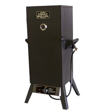 "34"" LP Gas Wood Smoker"