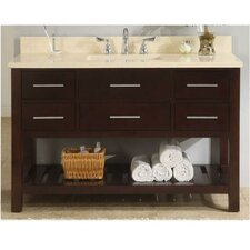 "Priva 48"" Open Bathroom Vanity Set"