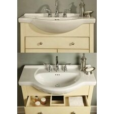 "Windsor 30"" Narrow Depth Bathroom Vanity Base"