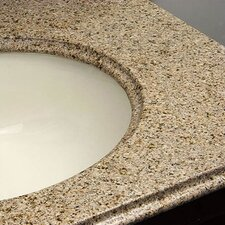 Doral Double Bowl Bathroom Vanity Top