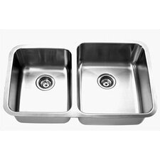 Double Undermount Kitchen Sink