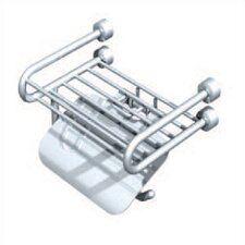 Tivoli Soap Rack with Paper Holder and Lid