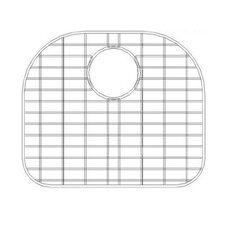"16"" x 16"" Sink Grid for 16 Gauge Undermount Large Left Bowl Kitchen Sink"