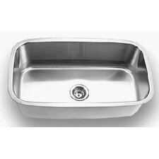 <strong>Empire Industries</strong> 16 Gauge Single Undermount Kitchen Sink
