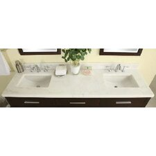 "<strong>Empire Industries</strong> Euro 61"" Marble Vanity Top"