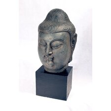 Male Buddha Head Statue