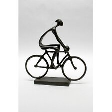 <strong>Vita V Home</strong> Man Pedaling Bike Statue