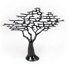 Modern Resin Tree Sculpture