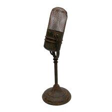 Microphone Statue