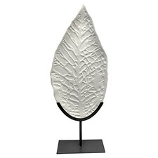 Fala Leaf on Stand Sculpture