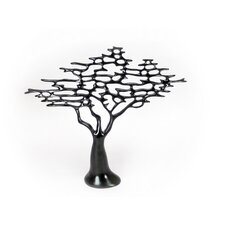 Modern Black Resin Tree