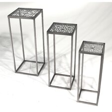 Metal 3 Piece Nesting Tables