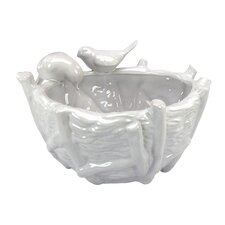 Luyo Round Bird Vase